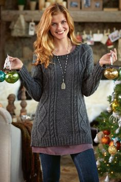 Squire Sweater - Women's Weekend Sweater, Soft & Snuggly Sweater, Flattering Sweater   Soft Surroundings.com  Love it!