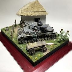 Дорога в Ад — Каропка.ру — стендовые модели, военная миниатюра