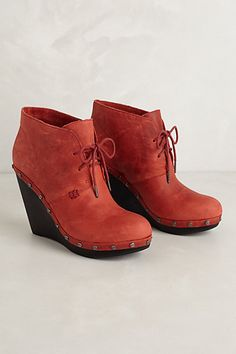 Aviator Wedge Clogs #anthropologie