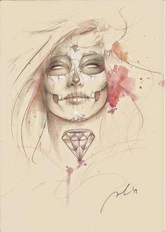LOS MIL Y UN ORIGINALES: Ilustración Catrina Rota, por Jorge Monreal