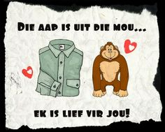 Afrikaanse Inspirerende Gedagtes & Wyshede: Liefde as tema Love Yourself Quotes, Love Quotes, Inspirational Quotes, Afrikaanse Quotes, Happy Birthday Wishes, Good Morning Quotes, My Man, Qoutes, Fairy Tales