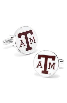 Ravi Ratan 'Texas A Aggies' Cuff Links available at #Nordstrom
