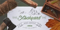 Image for Stackyard PERSONAL USE font