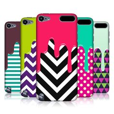 HEAD CASE DESIGNS PATTERN MELTDOWN BACK CASE FOR APPLE iPOD TOUCH 5G 5TH GEN