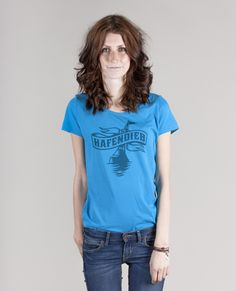 Hafendieb Logo Girls-Shirt I Hafendieb