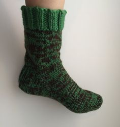 Thick wool socks handknit with care. Extremely warm and comfy, for men or women. Perfect for wearing around the house on cold nights!  Wool