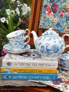 The Novel Bakers Present Vintage Tea Party Week| homeiswheretheboatis.net