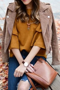 Mustard Sweater | Br