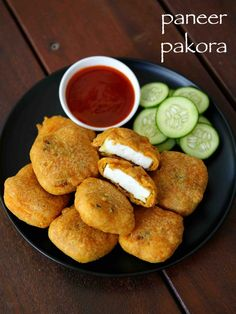 Want to know about indian food wallpaper? Read on Paneer Pakora Recipes, Indian Paneer Recipes, Indian Food Recipes, Ethnic Recipes, Oriental Recipes, Chaat Recipe, Veggie Recipes, Appetizer Recipes, Vegetarian Recipes