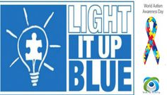 Show your Support & Help raise awareness by wearing blue on April 2nd - World Autism Awareness Day.  #autismawareness
