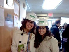 National Engineering week tours of the building of North Hall-where I now live. We got to tour it, see what the rooms would look like, and learn about the efforts of going Green in a building.
