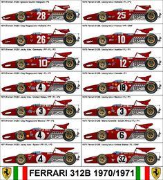 Formula One Grand Prix Ferrari 312B 1970/1971