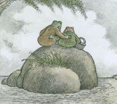 """Arnold Lobel bio: """"Frog and Toad"""": An Amphibious Celebration of Same-Sex Love - The New Yorker The New Yorker, Arnold Lobel, Cyberpunk 2020, Frog Art, Frog And Toad, Sex And Love, Wall Collage, Cute Art, Art Inspo"""