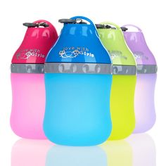 Drinking Fountains Water Drop Lightweight And Portable Silicone Material Teddy Dog Is Drinking Pet Supplies // Worldwide FREE Shipping //     #dogsupplies