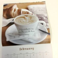 Our 2017 Bonjour Wall Calendar featuring photography by Georgianna Lane . . #tea #coffee #enchanted #photography #beauty #foodie #french #bonjour #mindfuleating #mindfulliving #life #pastry #joy #enchanted #brushdance @georgiannalane