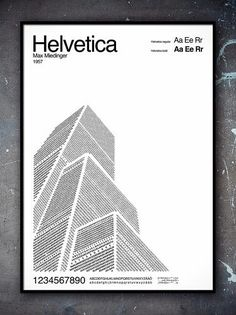 Helvetica, Futura and Garamond Typeface Illustrations designed by Pär Ågren Cv Inspiration, Typography Inspiration, Type Posters, Graphic Design Posters, Lettering, Typography Art, 20 Years Old, Type Design, Book Design