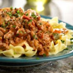 #recipe #food #cooking Skillet Picante Beef Stroganoff