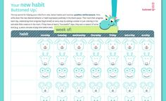 Kid's Habit Forming Interactive Printable