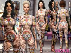 Sims 4 CC's - The Best: Bodysuit by sims2fanbg