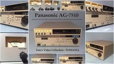 Panasonic AG-7510 S VHS Recorder Player Japan