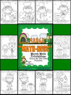 Go fish game coin identification fish games math and kindergarten march math ness march math printables color by the code puzzles fandeluxe Choice Image