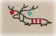 Scramp Alot: Day 3 of Pinterest challenge - hand embroidery