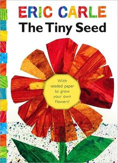 Read The Tiny Seed (The World of Eric Carle) children book by Eric Carle . Eric Carle's classic story of the life cycle of a flower is told through the adventures of a tiny seed. This mini-book Tiny Seed Activities, Kindergarten Math Activities, Preschool Books, Spring Activities, Book Activities, Teach Preschool, April Preschool, Preschool Crafts, Preschool Curriculum