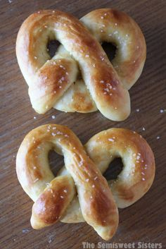 Auntie Anne's Mall Pretzels Copycat Recipe. The Dough: 1 cup milk, 1 package yeast, 3 tablespoons brown sugar, 2¼ cups all-purpose flour, 2 tablespoons butter, 1 teaspoon salt