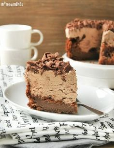 Tarta de mousse de chocolate ༺✿ƬⱤღ  https://www.pinterest.com/teretegui/✿༻