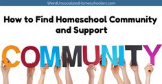 Homeschooling can be lonely without a strong support system. That's why it's so important to find your homeschool community. Adult Ballet Class, 4 H Club, Volunteer Programs, Riding Lessons, Feeling Lonely, Kids Church, Kids Events, Book Club Books, Great Friends