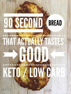 """TweetEmail TweetEmail Share the post """"90 Second Bread that Actually Tastes GOOD {Keto / Low Carb}"""" FacebookPinterestTwitterEmail If you've ever tasted 90-second bread straight out of the microwave you may understand why I think it is a lifeless dull flimsy eggy bread like disk that tastes sad. I mean, seriously, I am just not thatcontinue reading..."""