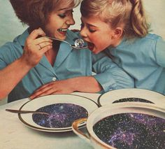 Collage art, planet soup? :)
