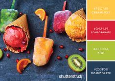 101 Color Combinations to Inspire Your Next Design – Tropic Popsicles Color Palette