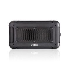 Veho - Vecto Wireless Water Resistant Outdoor Speaker with 6000mAh Powerbank Black