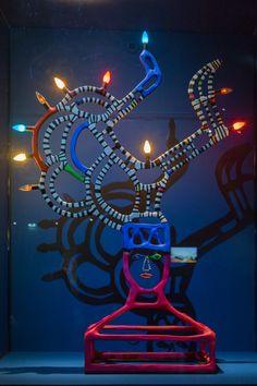 2014/10/10 18h36 Niki de Saint Phalle, «Lampe angulaire» (1992)   Exposition Niki de Saint Phalle, Grand Palais (Paris)