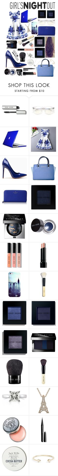 """Girls night out! #103"" by worldofflowers ❤ liked on Polyvore featuring Bobbi Brown Cosmetics, Wildfox, Speck, Rainbeam, Michael Kors, Kate Spade, Casetify, Mark Broumand, Marc Jacobs and Jack Wills"