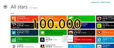 Windows 8 ya tiene más de 100.000 aplicaciones