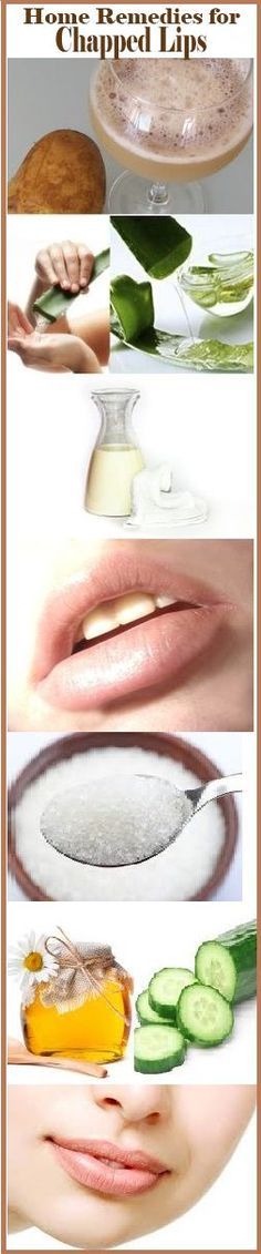 Home #Remedies for Chapped Lips