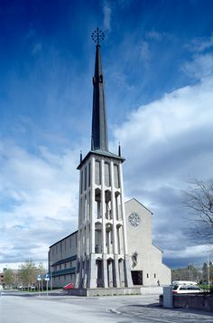 Bodø domkirke, built in 1954, Norway