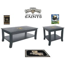Use this Exclusive coupon code: PINFIVE to receive an additional 5% off the New Orleans Saints Table Set at SportsFansPlus.com