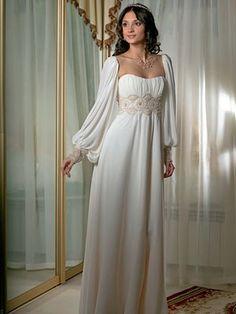 f78b8ec009 Esküvői empire stílusú fotók csipke esküvői ruhák, frizurák és  Lakberendezés (esküvő)
