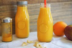 Turmeric Smoothie with Mango and Coconut recipe | Food and Nutrition Magazine | Stone Soup Blog