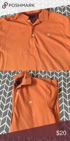 Men's XL Banana Republic Polo Shirt Orange XL men's Banana Republic Polo Shirt. Only wore a few times. Just like new! Banana Republic Shirts Polos