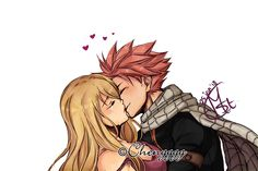Deeply in love with Natsu Dragneel & Lucy Heartfilia from anime/manga 'Fairy Tail' and know they in love with each other too! Fairy Tail Nalu, Fairy Tail Natsu And Lucy, Fairy Tail Love, Fairy Tail Ships, Fairytail, Zeref, Gruvia, Lucy Fairy, Nalu Comics