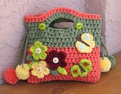 Looking for your next project? You're going to love Girls Bag  with Pom Pom by designer EvasStudio.
