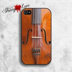 iPhone 5 & 4 / 4s case - Vintage Violin Design. $19.95, via Etsy. Is this Dolores or what
