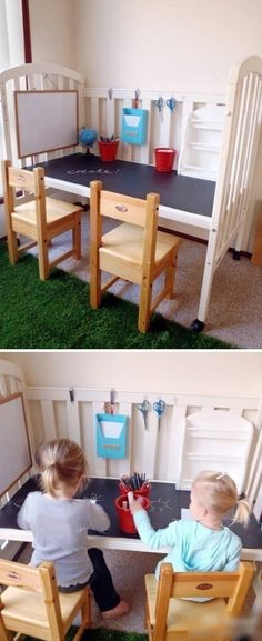 Recycle the baby's bed