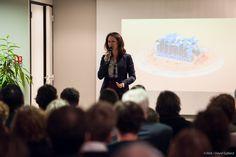 En présence et avec l'intervention de Johanna Rolland, maire de Nantes et présidente de Nantes Métropole
