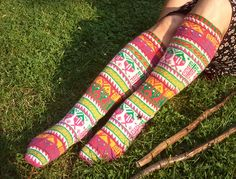 Ravelry: Project Gallery for Eastern Anatolian Stockings - 15 pattern by Priscilla Gibson-Roberts