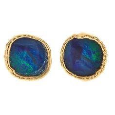 Mini Opal Studs - Margaret Elizabeth